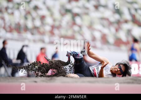 Kaede Maegawa, 11. MAI 2021 - para Athletics : READY STEADY TOKYO - para Athletics T63-Finale der Frauen im Nationalstadion in Tokio, Japan. (Foto von MATSUO.K/AFLO SPORT)