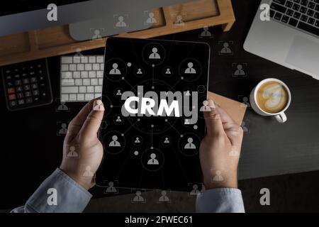 Business Kunden CRM-Management Analyse Service Concept Management