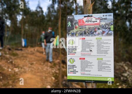 Matosinhos, Portugal. Mai 2021. Atmosphäre während der Rallye Portugal 2021, 4. Runde der FIA WRC 2021, FIA World Rally Championship, vom 20. Bis 23. Mai 2021 in Matosinhos, Portugal - Foto Paulo Maria / DPPI Credit: DPPI Media/Alamy Live News