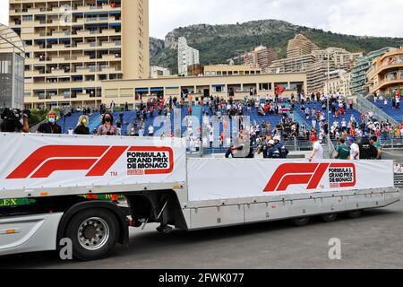 Monaco, Monte Carlo. Mai 2021. Fahrerparade. 23.05.2021. Formel-1-Weltmeisterschaft, Rd 5, Großer Preis Von Monaco, Monte Carlo, Monaco, Wettkampftag. Bildnachweis sollte lauten: XPB/Press Association Images. Quelle: XPB Images Ltd/Alamy Live News