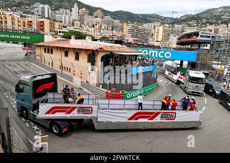 Monte Carlo, Monaco. Mai 2021. Fahrerparade. Großer Preis von Monaco, Sonntag, 23. Mai 2021. Monte Carlo, Monaco. Quelle: James Moy/Alamy Live News