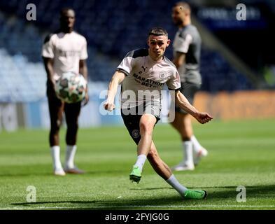 Fußball - Champions League - Manchester City Training - Estadio do Dragao, Porto, Portugal - 28. Mai 2021 Phil Foden von Manchester City während des Trainings REUTERS/Carl Recine