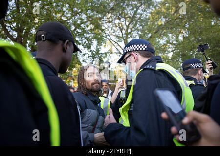 London, Großbritannien. Mai 2021. Unite for Freedom Protest, London, UK Credit: Yuen Ching Ng/Alamy Live News