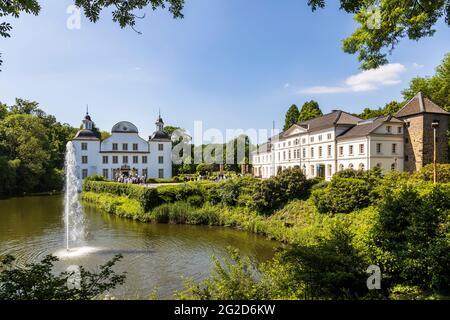 Schloss Borbeck, Essen, Ruhrgebiet, Nordrhein-Westfalen, Deutschland, Europa