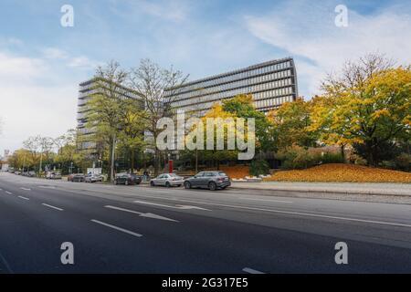 Hauptsitz des Europäischen Patentamts (EPA) - München, Deutschland