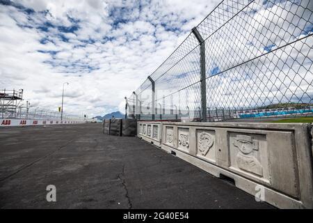 Puebla, Mexiko. 17 2021. Juni: Ambiance Track während des Puebla ePrix 2021, 5. Meeting der Formel-E-Weltmeisterschaft 2020-21, auf dem Autodromo Miguel E. Abed vom 18. Bis 20. Juni in Puebla, Mexiko - Photo Germain Hazard/DPPI Credit: DPPI Media/Alamy Live News