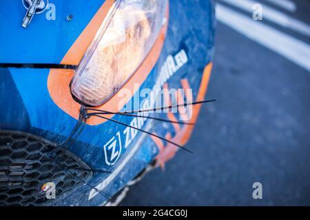 Mikolajki, Polen. 20. Juni 2021. Ambiente während der FIA ERC Rally Polen 2021, 1. Runde der FIA European Rally Championship 2021, vom 18. Bis 20. Juni 2021 in Mikolajki, Polen - Foto Bastien Roux / DPPI Credit: DPPI Media/Alamy Live News