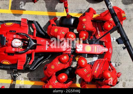 Spielberg, Österreich. Juni 2021. Steiermark Grand Prix, Sonntag, 27. Juni 2021. Spielberg, Österreich. Quelle: James Moy/Alamy Live News