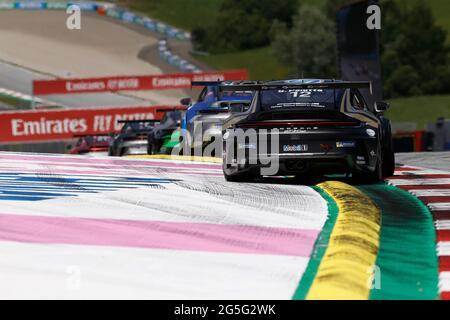 Spielberg, Österreich. Juni 2021. # 12 Steven Palette (F, CLRT), Porsche Mobil 1 Supercup am Red Bull Ring am 27. Juni 2021 in Spielberg, Österreich. (Foto von HOCH ZWEI) Quelle: dpa/Alamy Live News