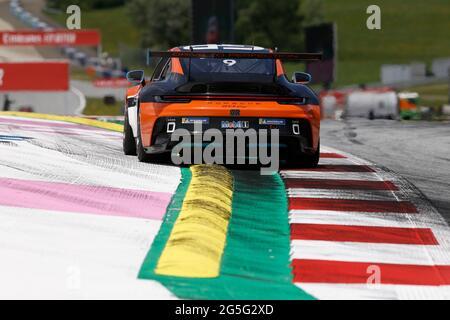 Spielberg, Österreich. Juni 2021. # 9 Lucas Groenveld (NL, GP Elite), Porsche Mobil 1 Supercup am Red Bull Ring am 27. Juni 2021 in Spielberg, Österreich. (Foto von HOCH ZWEI) Quelle: dpa/Alamy Live News