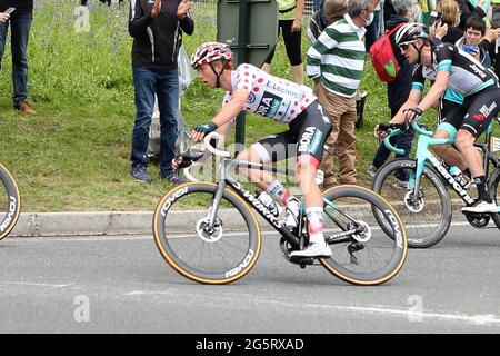 Redon, Fougeres, Frankreich, 29/06/2021, IDE Schelling von BORA-hansgrohe während der Tour de France 2021, Radrennen Etappe 4, Redon - Fougeres (150,4 km) am 29. Juni 2021 in Fougeres, Frankreich - Foto Laurent Lairys / DPPI