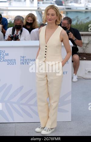 Cannes, Frankreich. Juli 2021. 74. Filmfestspiele von Cannes 2021, Fotocall Film : 'Tre Piani' - im Bild: Alba Rohrwacher Kredit: Unabhängige Fotoagentur/Alamy Live News