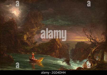 Gemälde; Öl auf Leinwand; insgesamt: 134.3 x 202.6 cm (52 7/8 x 79 3/4 Zoll) gerahmt: 162.6 x 231.1 x 17.8 cm (64 x 91 x 7 Zoll);