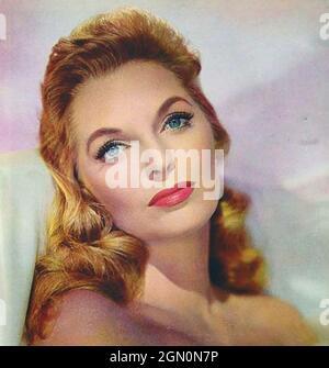 JULIE LONDON (1926-2000) Werbefoto der amerikanischen Sängerin um 1956