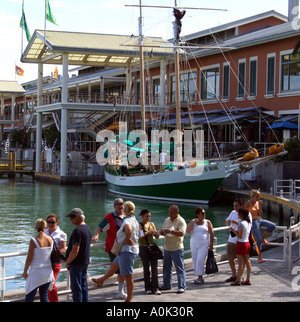 Miami Florida USA. Miamarina am Bayside Marketplace ein beliebtes touristisches Ort. - Stockfoto