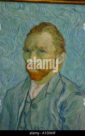 Selbstbildnis von Vincent Van Gogh Musée d Orsay Paris Frankreich Europa - Stockfoto