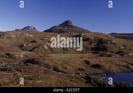 Stac Polly von Loch Badagyle GPL 4343-409 - Stockfoto