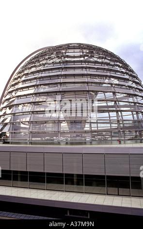 Innenraum des Reichstagsgebäudes Home Deutschland s Parlament Berlin Deutschland - Stockfoto