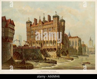 London Bridge Nonsuch Hs - Stockfoto