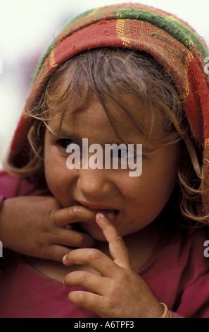 Aus einem afghanischen mädchen