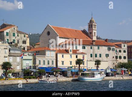 Sibenik-Fluss Krka Dalmatien Kroatien - Stockfoto