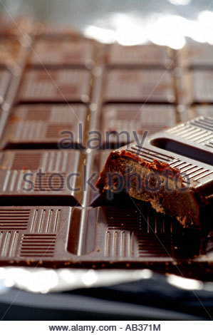 Tafel Schokolade - Stockfoto