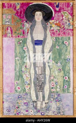"""Fine Arts, Klimt, Gustav, (1862-1918), Malerei,""Bildnis Adele Bloch-Bauer II"", (""Bildnis Adele Bloch-Bauer II""), - Stockfoto"