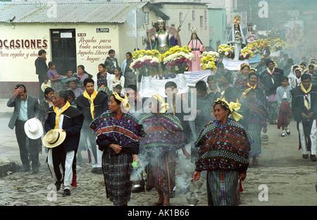 Festival San Martin heiligen Tag Saint Martin San Martin Chimaltenango in Guatemala - Stockfoto
