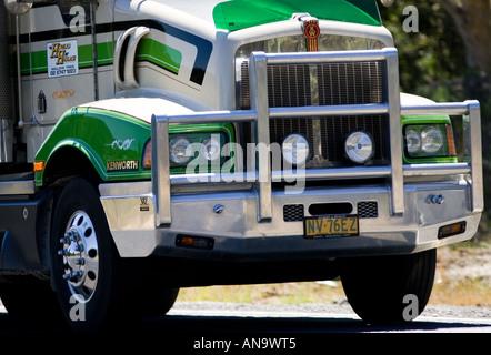 LKW auf Great Western Highway aus Sydney, New South Wales Australien Adelaide - Stockfoto