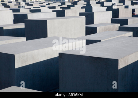 Holocaust-Mahnmal-Berlin, Deutschland - Stockfoto