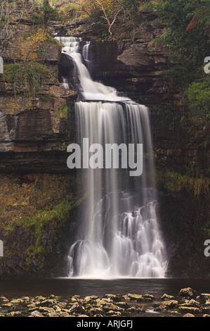 Thornton Kraft Ingleton Wasserfällen gehen, Yorkshire Dales National Park, North Yorkshire, Yorkshire, England, - Stockfoto
