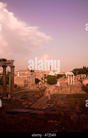 Forum Romanum Rom Italien - Stockfoto