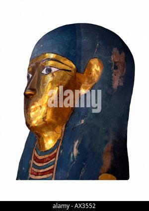 Leiter der mumifizierte Körper - Stockfoto