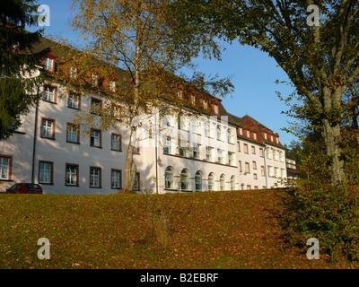 Fassade des medizinischen Gebäude, Baden-Württemberg, Deutschland - Stockfoto