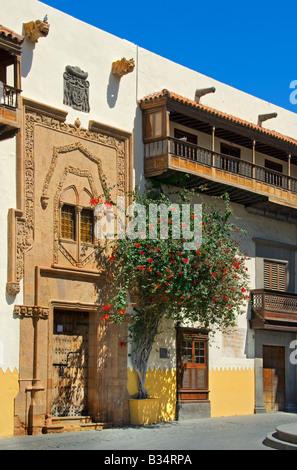 Casa de Colón, Christopher Columbus-Haus, Vegueta, Old Town, Las Palmas, Gran Canaria, Kanarische Inseln, Spanien - Stockfoto