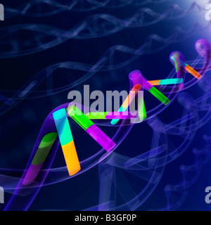 DNA-Sequenz - Stockfoto
