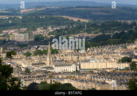 Einen Überblick über die Stadt Bath Somerset England - Stockfoto