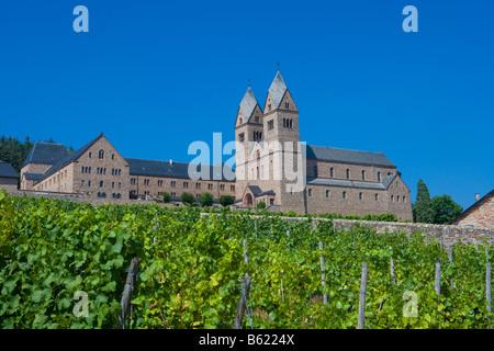 St. Hildegard Abbey, Rüdesheim, Rheinland-Pfalz, Deutschland, Europa - Stockfoto