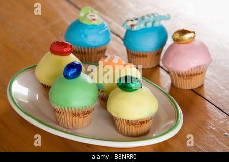 Oster-Cupcakes-Sydney-Australien - Stockfoto