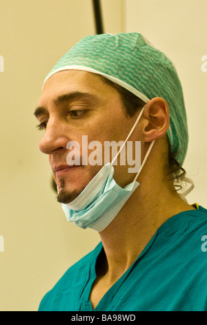 zahnärztliche Implantologie - Stockfoto