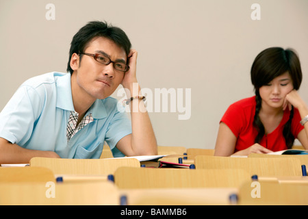 Studenten In einem Klassenzimmer - Stockfoto