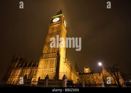 Big Ben und der Palace of Westminster - Stockfoto