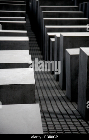 Holocaust-Mahnmal-Berlin-Deutschland - Stockfoto