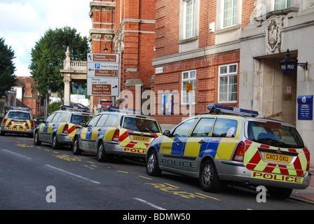 Eastbourne Polizeiamt East Sussex Großbritannien - Stockfoto
