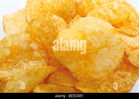 Paprika chips - Stockfoto