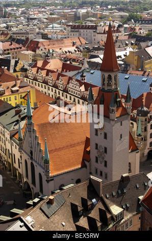 Das Alte Rathaus (Altes Rathaus), München, Deutschland - Stockfoto