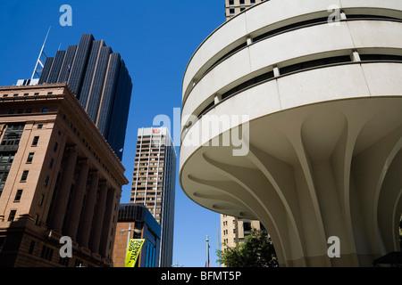 Australien, New South Wales, Sydney.  Moderne Architektur von Sydneys central Business District. - Stockfoto