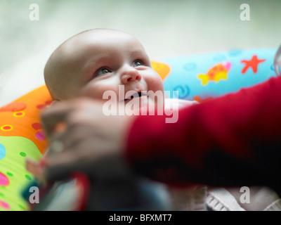 Porträt von baby - Stockfoto
