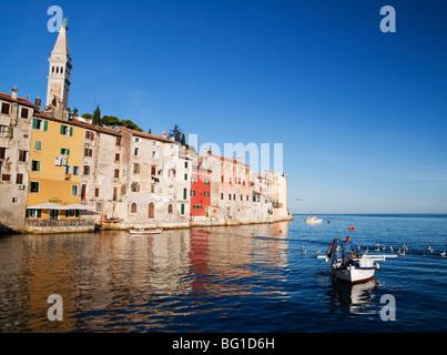 Fischer Rovinj Istrien Kroatien - Stockfoto