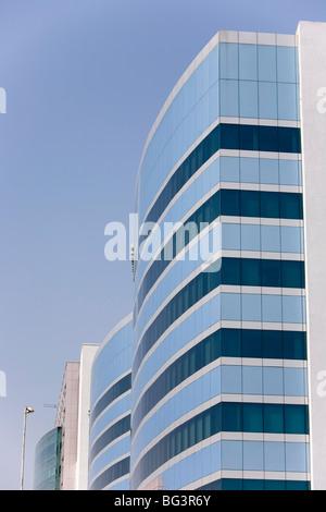 Accenture-Gebäude in Hi-Tech City, Hyderabad, Andhra Pradesh Zustand, Indien, Asien - Stockfoto
